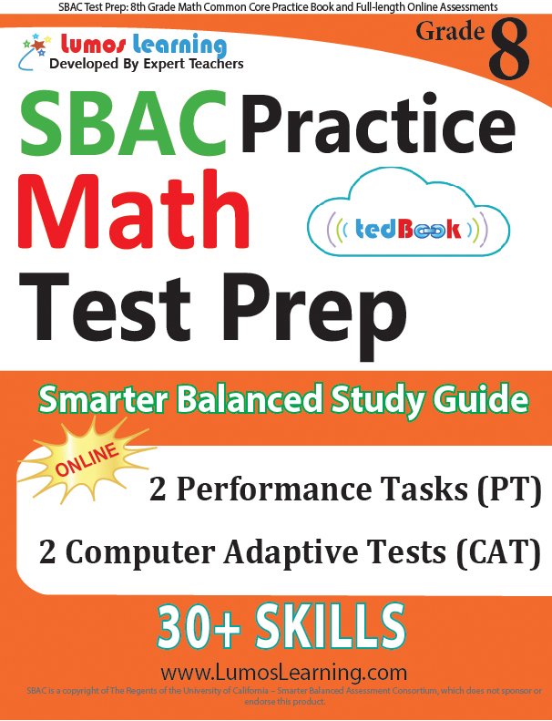 Grade 8 SBAC Mathematics