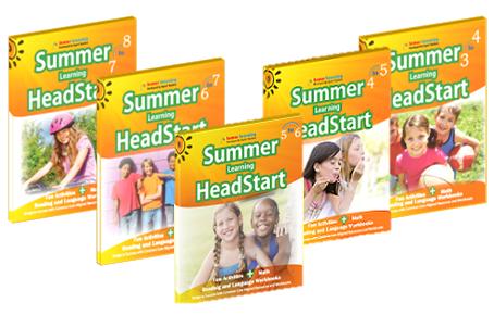 Sumemr Learning HeadStart Books