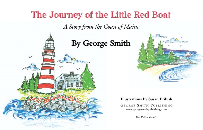 The Journey of the little red boat