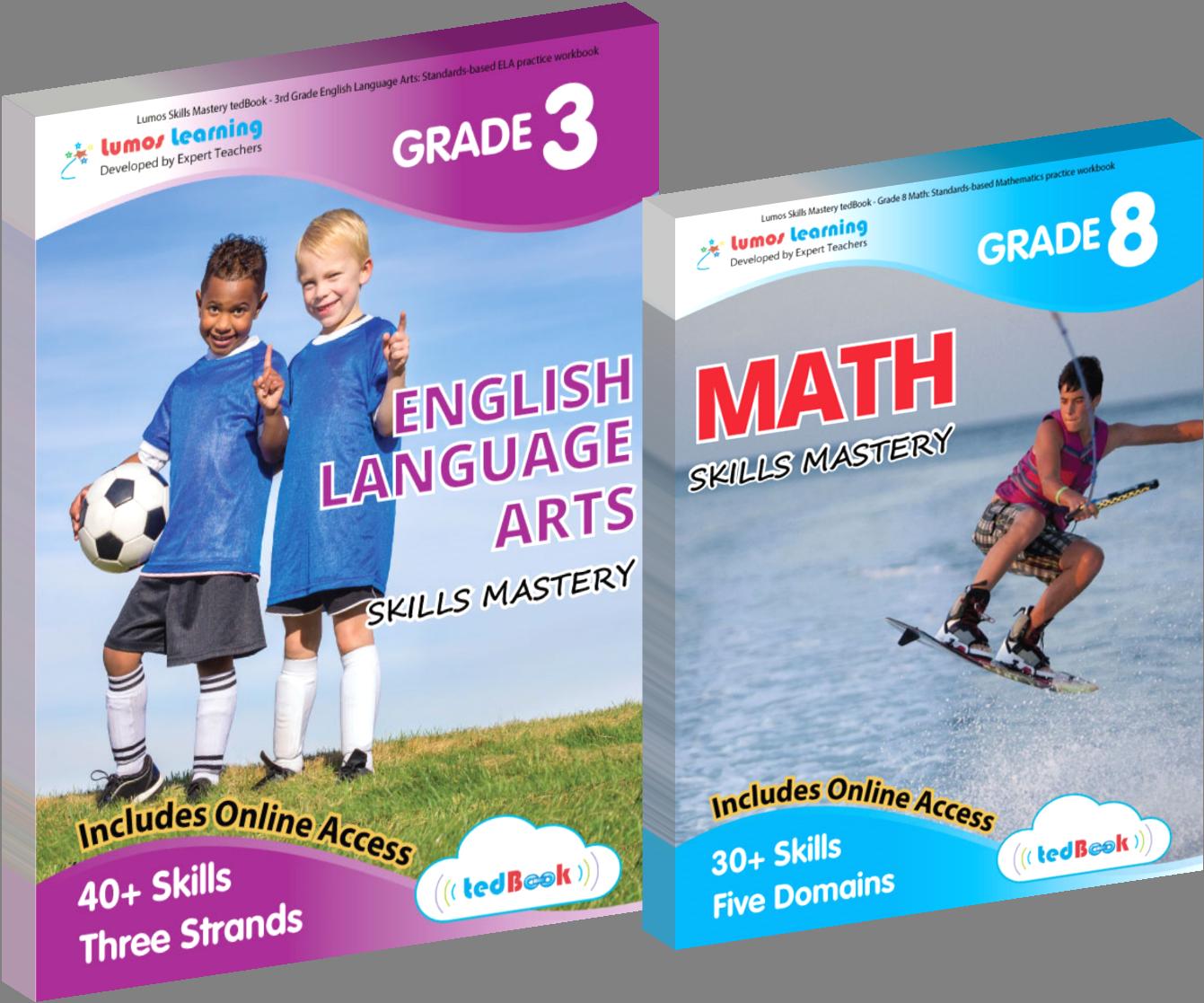 Workbooks Designed to Help Students Master Grade-Level Skills