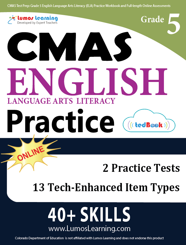 Grade 5 CMAS English Language Arts Practice