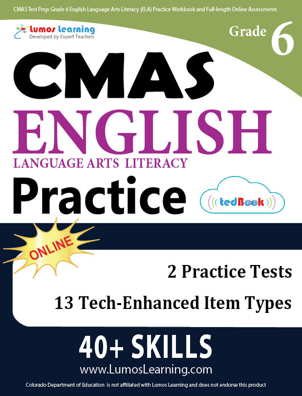 Grade 6 CMAS English Language Arts Practice