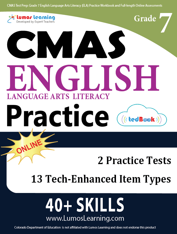 Grade 7 CMAS English Language Arts Practice