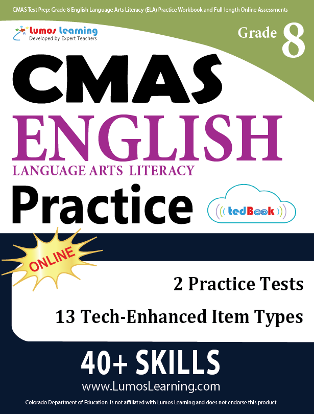 Grade 8 CMAS English Language Arts Practice