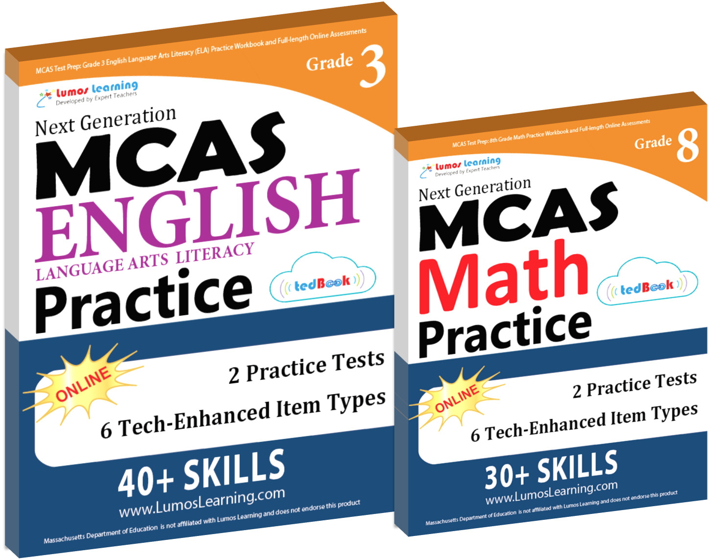 Printed Practice Workbooks and Online Practice Tests for MAAP