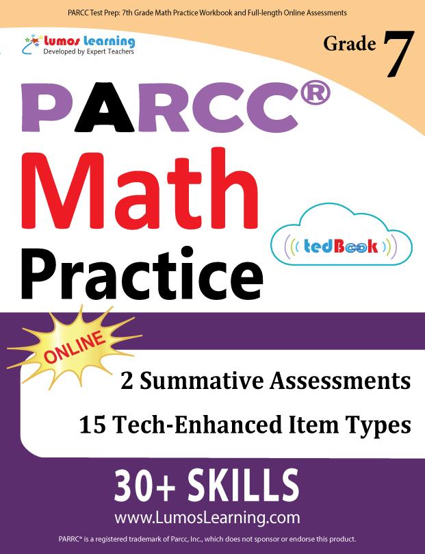 Lumos tedBook™ PARCC Edition - Printed Practice Tests and
