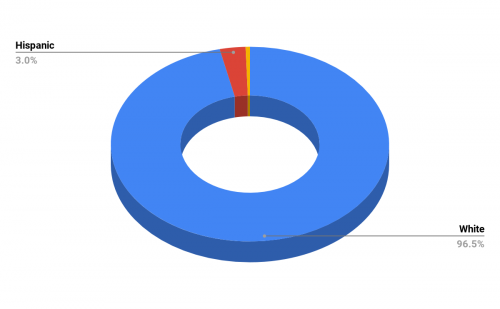 Demographics of Hillcrest High School
