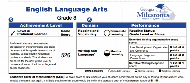 GMAS Report Section 5 and 6