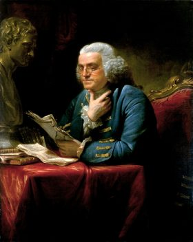 EXCERPT FROM THE AUTOBIOGRAPHY OF BENJAMIN FRANKLIN