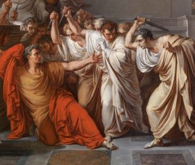 EXCERPT FROM THE TRAGEDY OF JULIUS CAESAR: ACT III, SCENES I & II