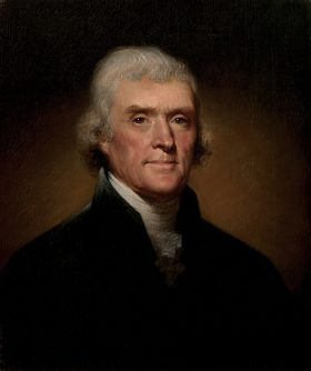 EXCERPTS FROM THOMAS JEFFERSON'S WRITINGS ON AMERICAN INDIANS