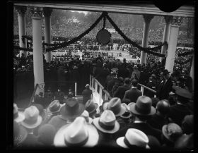 FDR'S FIRST INAUGURAL ADDRESS