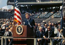 JFK'S 'RACE TO SPACE' SPEECH