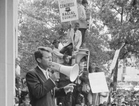 RFK'S SPEECH FOLLOWING THE DEATH OF MLK