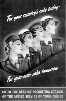 SERVING WITH THE WOMEN'S ARMY CORPS