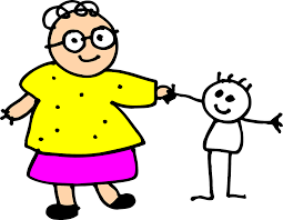 Grandma and Raggedy Ann