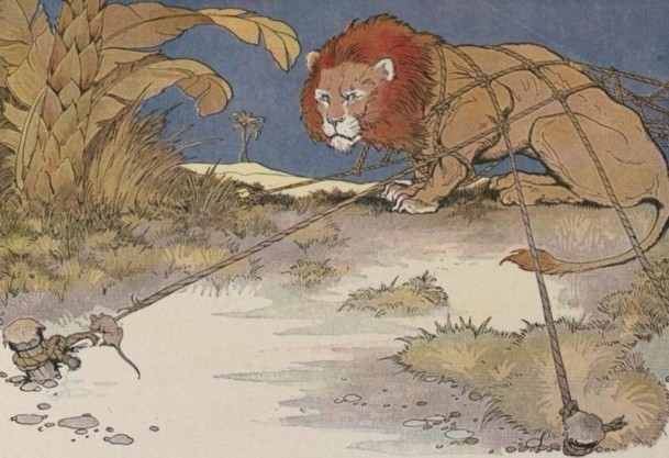 How the Lion and Mouse Became Friends