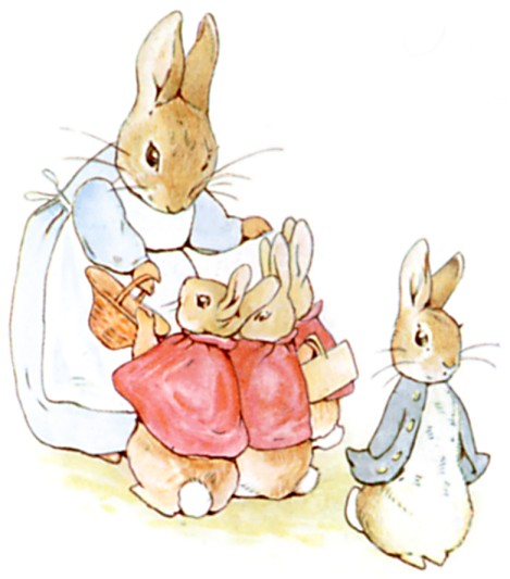 Extract from The Tale of Peter Rabbit