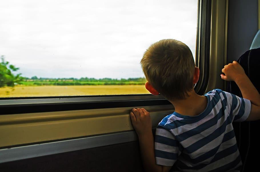 Jason Rides a Train