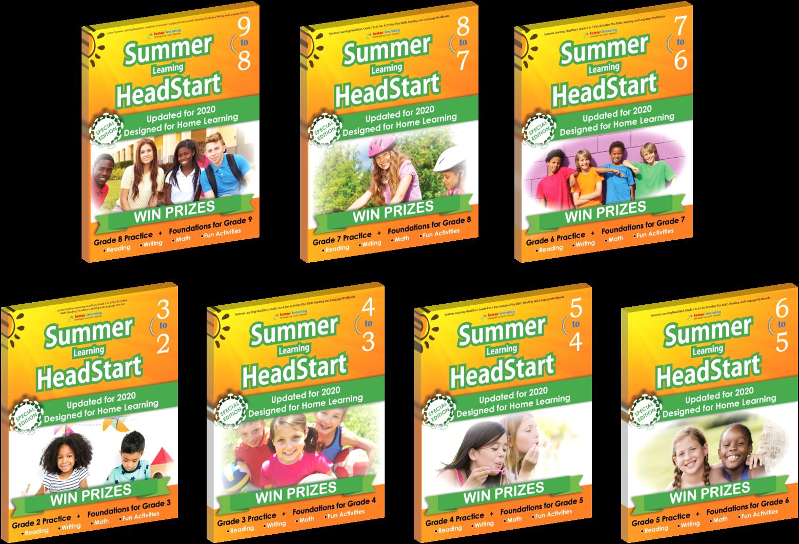 Summerr Learning HeadStart Books