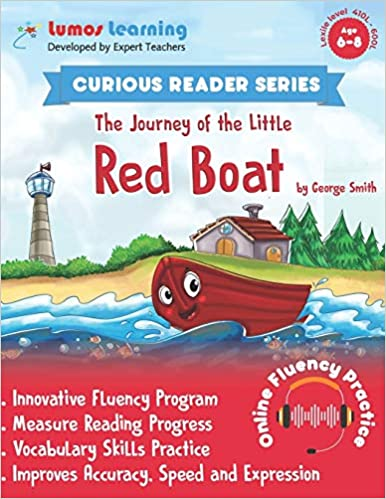 The Journey of the Little Red Boat - Curious Reader  - Reading fluency program