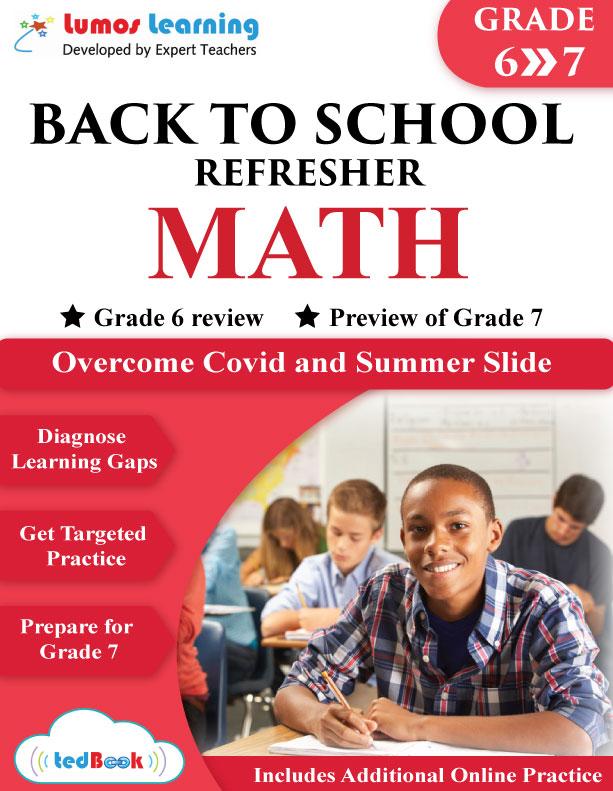 back to school math workbook grade 6-7