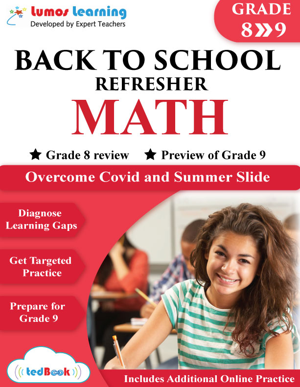 back to school math workbook grade 8-9