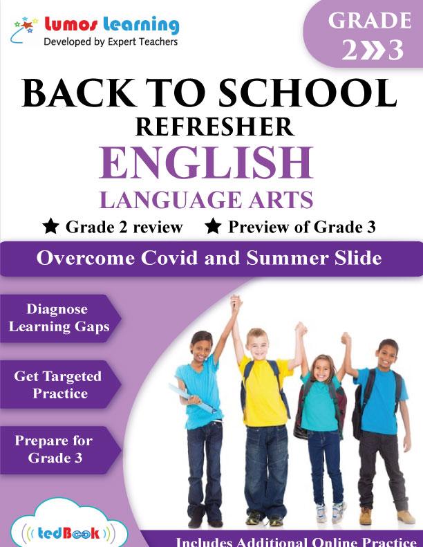 back to school english workbook grade 2-3