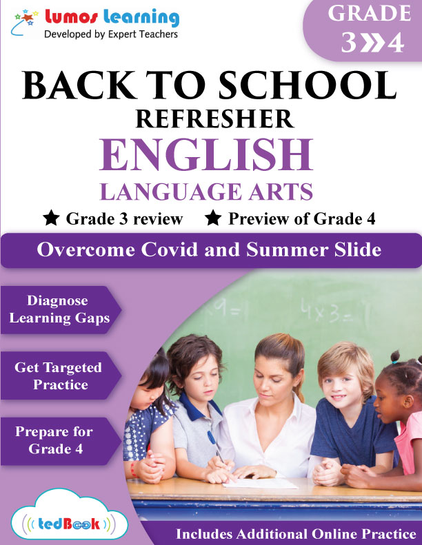 back to school english workbook grade 3-4