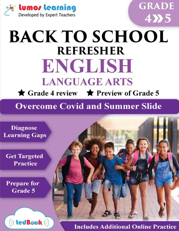 back to school english workbook grade 4-5