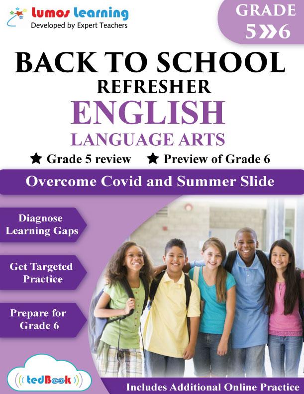 back to school english workbook grade 5-6