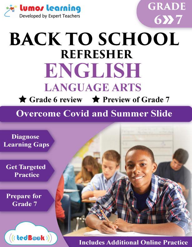 back to school english workbook grade 6-7