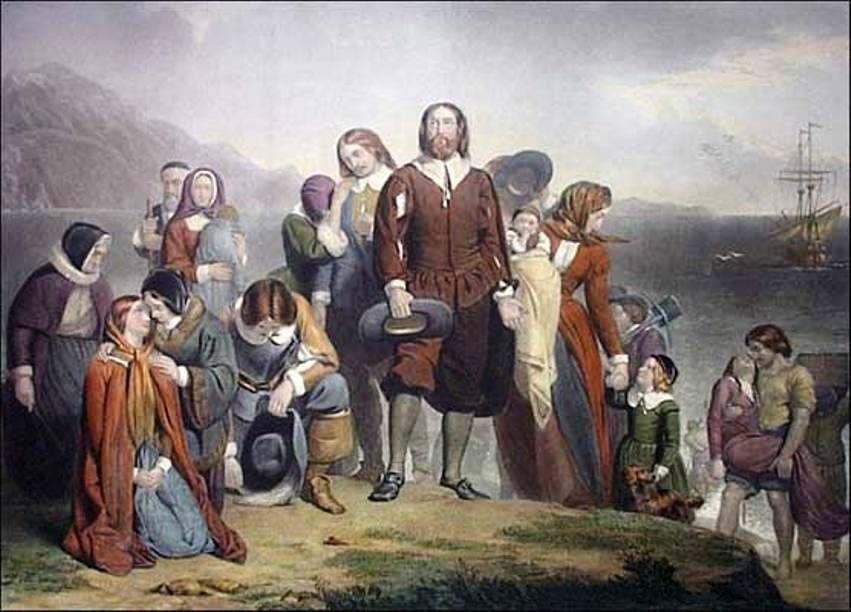 Landing of the Pilgrims