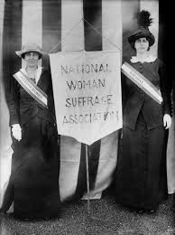 WOMAN SUFFRAGE MUST COME NOW - Woodrow Wilson