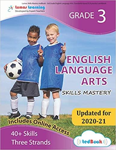Grade 3 ELA skills mastery workbook
