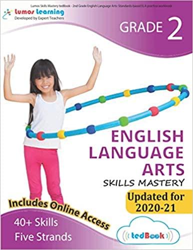 Grade 2 ELA skills mastery workbook