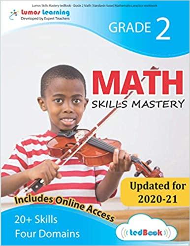 Grade 2 Math skills mastery workbook
