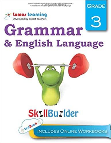 Grade 3 ELA skills builder workbook
