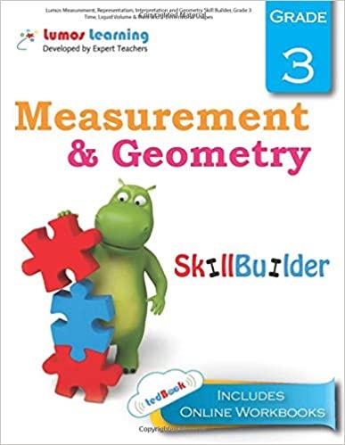 Grade 3 Math skills builder workbook