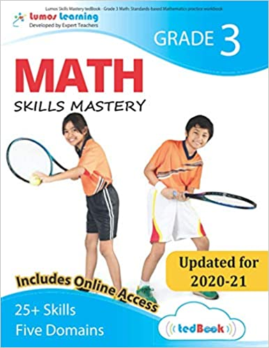 Grade 3 Math skills mastery workbook