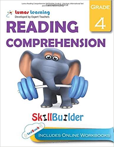 Grade 4 ELA skills builder workbook