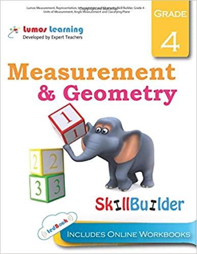 Grade 4 Math skills builder workbook