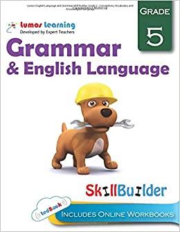 Grade 5 ELA skills builder workbook