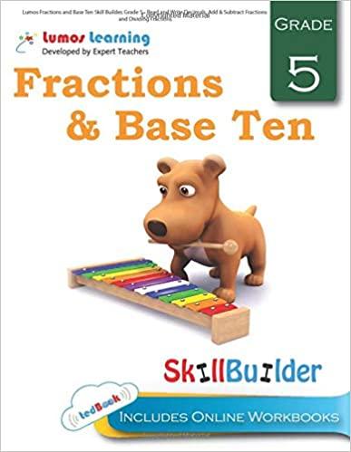 Grade 5 Math skills builder workbook
