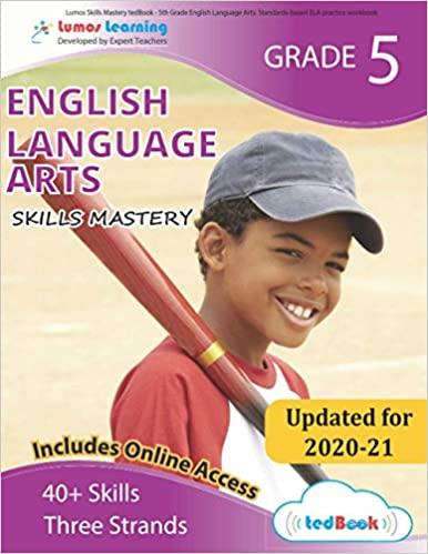 Grade 5 ELA skills mastery workbook