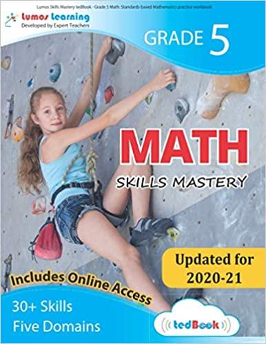 Grade 5 Math skills mastery workbook