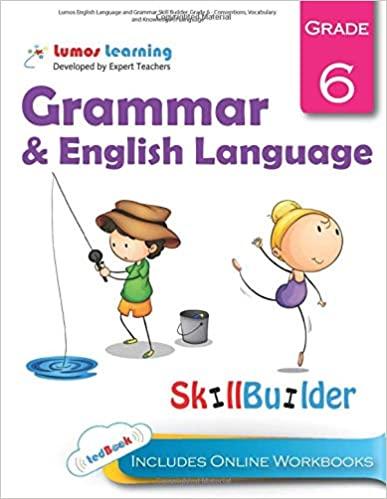 Grade 6 ELA skills builder workbook
