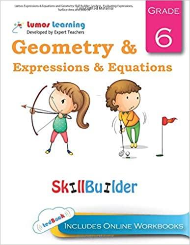 Grade 6 Math skills builder workbook