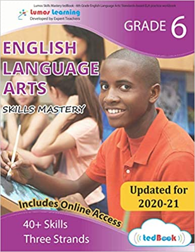 Grade 6 ELA skills mastery workbook