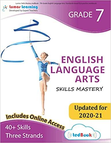 Grade 7 ELA skills mastery workbook